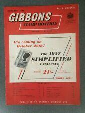 Gibbons Stamp Monthly October 1956 Vol XXX No. 2