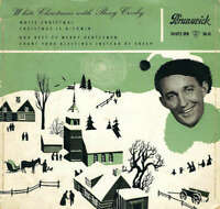 "Bing Crosby - White Christmas With Bing Crosby (7"", EP) Vinyl Schallplatte 44783"