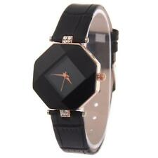 Unique Casual Square Ladies Women Watch leather Band Quartz Wrist Watch Gift BK