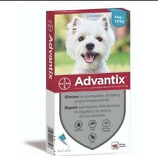 Advantix (4-10KG) 8 Pipetas (blister) CAD 2024