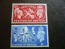 Stamps - Great Britain - Scott# 290-291