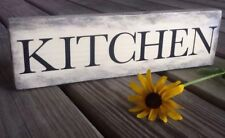 Handmade Rustic Primitive Country Wood Sign Vintage KITCHEN THEME Knotty Pine