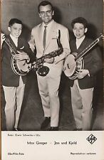 MAX GREGER (1926-2015) ~ RPPC ~ GERMAN JAZZ MUSICIAN & BIG BAND CONDUCTOR ~c1950