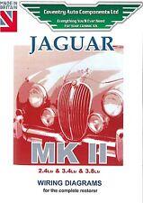 Jaguar Mark 2 MkII Wiring Diagrams Book  (9194)