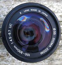 Sigma 100-300mm f/4.5-6.7 Lens