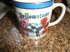 Yellowstone Coffee Cup Souvenir Humingbird