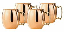 WHOLESALE CASE OF 48 COPPER MOSCOW MULE MUGS SMOOTH FINISH STEEL LINED 18 OUNCE