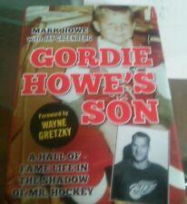 Gordie Howe's Son Mark Hockey Book Detroit Red Wings HARDCOVER