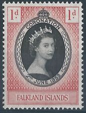 Royalty Falkland Island Colony Stamps
