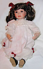 Hamilton Collection 19 inch Porcelain doll McKenzie by Virginia E Turner