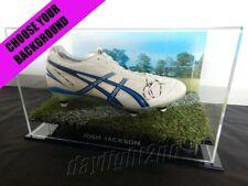 ✺Signed✺ JOSH JACKSON Boot PROOF COA Canterbury Bulldogs 2020 Jersey NRL