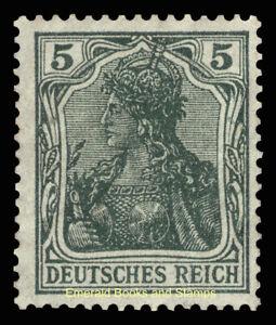 EBS Germany 1915 - Germania - 5 Pfennig - Michel 85 II a MNH**