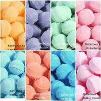 50 x Assorted Mini Marble Bath Bombs - Wedding Favour, Birthday, Christmas Gifts