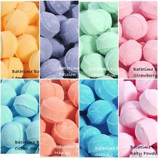 50 X Assorted Chill Pill / Mini Marble Bath Bombs - Wedding Favour Gifts