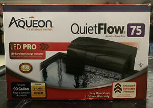 AQUEON QUIETFLOW POWER FILTER 75- BRAND NEW !