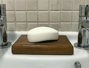 Wooden Soap Dish, Tray,  Holder, Handmade, Stand, Colour Village Pine  (ref. ML)