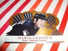 Mario Lemieux 2000-01 Pacific Crown Royal #87 Hockey Card Pittsburgh Penguins