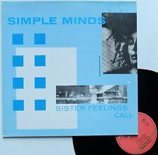 "LP 33T Simple Minds  ""Sister feelings call"" - (TB/EX)"