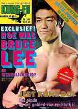 BRUCE LEE Karate kung-fu star 1970s Martial art poster magazine 9 dutch edition
