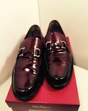 Designer Salvatore Ferragamo Men's Loafers Shoes Size: 8.5
