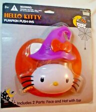 Hello Killy Sanrio  Pumpkin Push In 2 piece Package damage Cakes or pumpkin