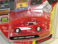 1/64 JADA 10VOX TRACKSTERS ONLINE RACING SERIES II 1957 CORVETTE , RED , NEW