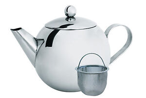 Cuisena Teapot Infuser Stainless Steel Pot Tea Strainer Filter Classic 850mL