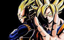 Poster A3 Dragon Ball Goku Vegeta