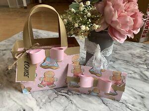 Personalised Handmade Girls Kids Christmas Gift Bag/Handbag & Money Wallet