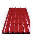 Dachplatten, Blechdachziegel,Dachbleche,Stahlblechplatten,Ziegelbleche,Blechdach