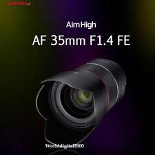 Samyang Optics  New AF 35mm F1.4 FE Lens For Sony E-Mount Full Frame