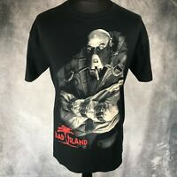 DEAD ISLAND Ram Zombie Black T-Shirt Large Bioworld NWT Gaming Merch Rare 2011