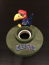 University Of Kansas Jayhawks Candle Capper Jar Topper