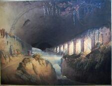 Francis Jukes 1796 Subteraneous Ruins of Maecenas Villa - RARE org royal family