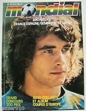 MONDIAL n°24 ¤ 1978 ¤ ROCHETEAU/FRANCE-ESPAGNE/GEMMRICH ¤ FOOT-BALL
