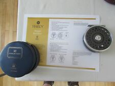 "Good original vintage Hardy marquis no.8/9  trout fly fishing reel 3 & 5/8ths"" /"