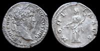 Hadrian. AD 117-138. AR Denarius, Rome mint. Struck circa AD 134-138.