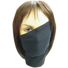 Anime Cosplay NARUTO Hatake Kakashi Face Mask with Zipper Prop Gift Black/Blue