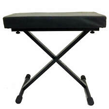 More details for  keyboard stool - folding x frame piano bench b-grade
