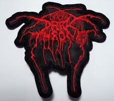 darkthrone shaped logo  EMBROIDERED  PATCH