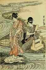 A4 Photo Toyokuni Utagawa 1769 1825 Washing linen The International Studio 1909