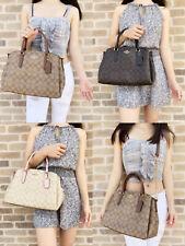 Coach F29683 F28976 шалфей большие сумка через плечо сумочка свет khakipink коричневый