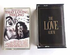 LOVE SONGS - THE LOVE ALBUM & The Very Best Of THAT LOVING FEELING - 4 Cassettes