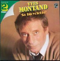 DOUBLE ALBUM 33 TOURS YVES MONTAND LA BICYCLETTE