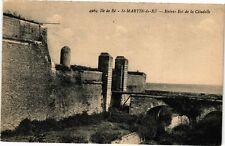 CPA  Ile de Ré - St-Martin-de-Ré - Entrée Est de la Citadelle    (242218)
