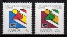 Malta - 1981 25 years fair of Malta Mi. 630-31 MNH