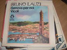 """7""""  BRUNO LAUZI GENOVA PER NOI -PAOLO CONTE EX++"""