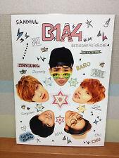 KPOP B1A4 Photo Photocard  Jinyoung CNU Sandeul  Baro Gongchan