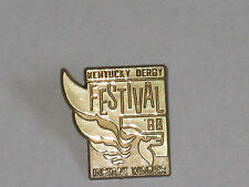 1988 Kentucky Derby Festival Instant Winner Gold Pin