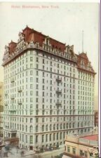 Hotel MANHATTAN ~ New York ~ VINTAGE Colored